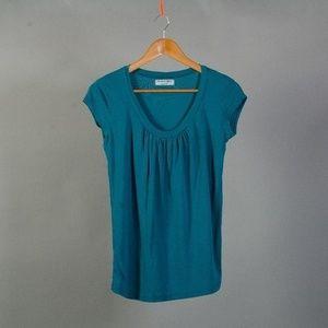 [Michael Stars] scoop neck maternity shirt